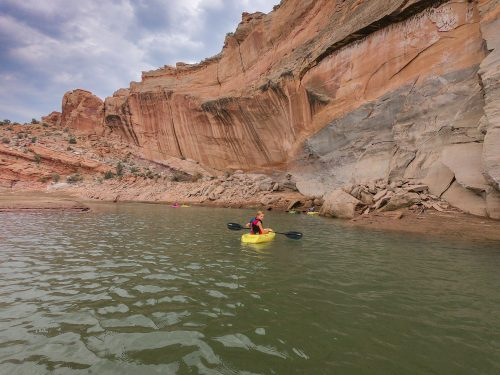 paddling Red Fleet State park