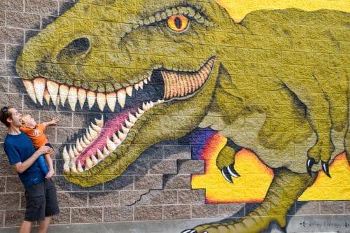 vernal dinosaur