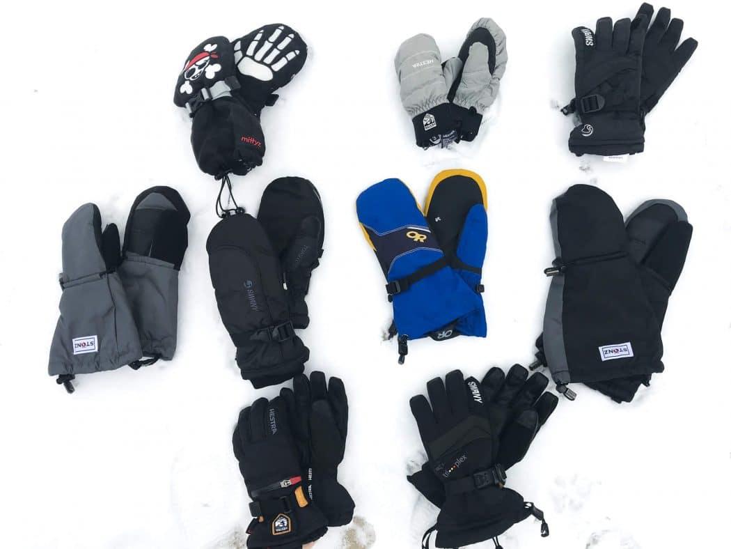 Simpli Kids Childrens Winter Waterproof Ski Mittens,Animal