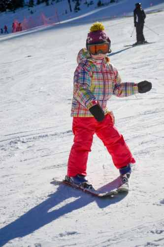 toddler skiing with edgie wedgie