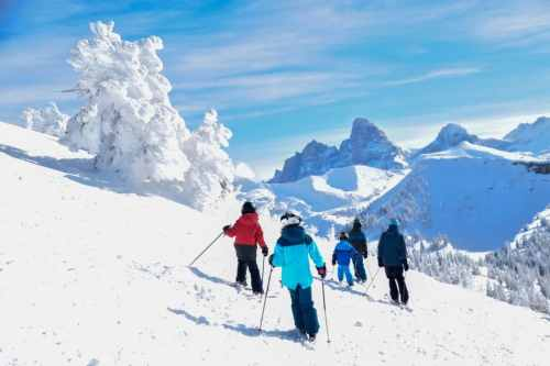skiing grand targhee kids