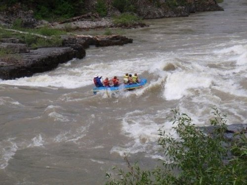 whitewater rafting with kids on snake river