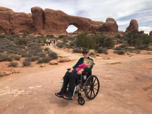 wheelchair arches national park