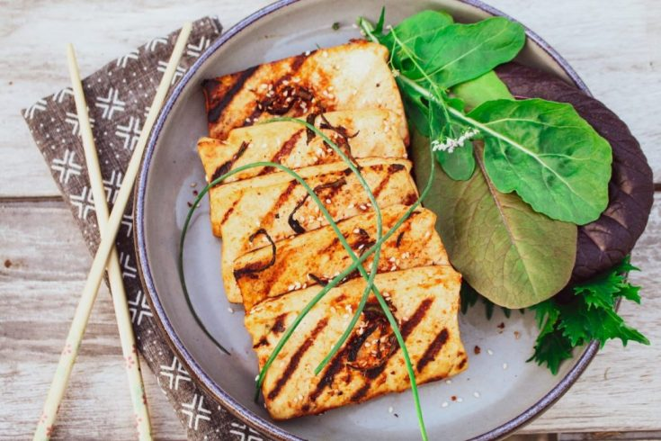 Grilled Spicy Asian Tofu