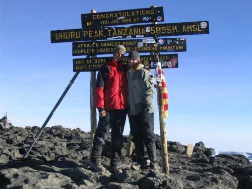 kilimanjaro with teens
