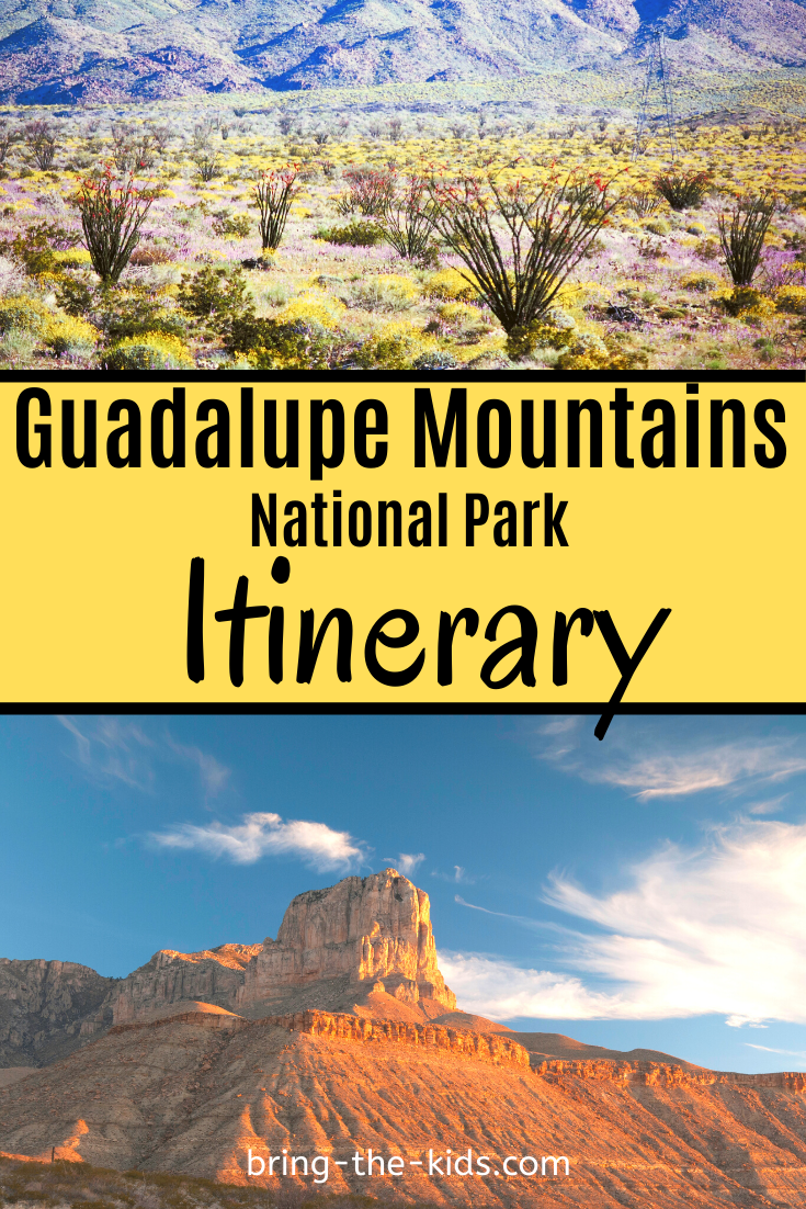 Guadalupe Mountains Perfect Itinerary