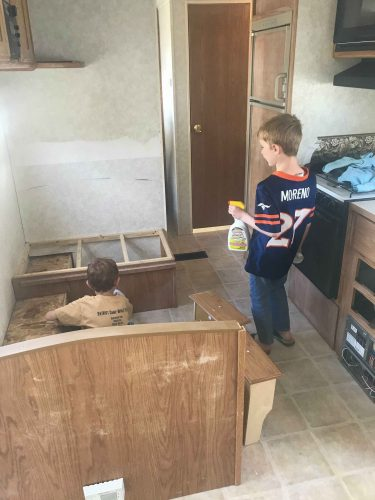 kids cleaning trailer Trailer Remodel