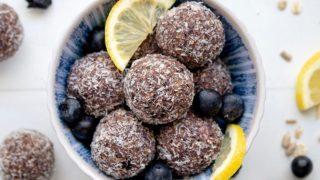 Nut Free Blueberry Bliss Bites