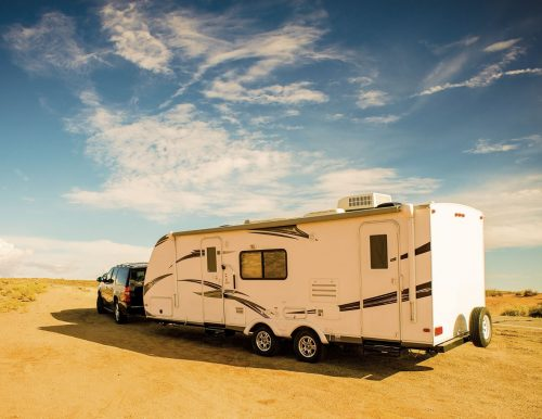 shopping for a travel trailer