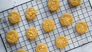 Peanut Butter Chickpea Cookies