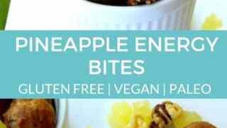 Pineapple Energy Bites