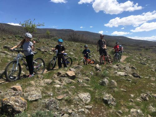 mountain biking kids Heber city