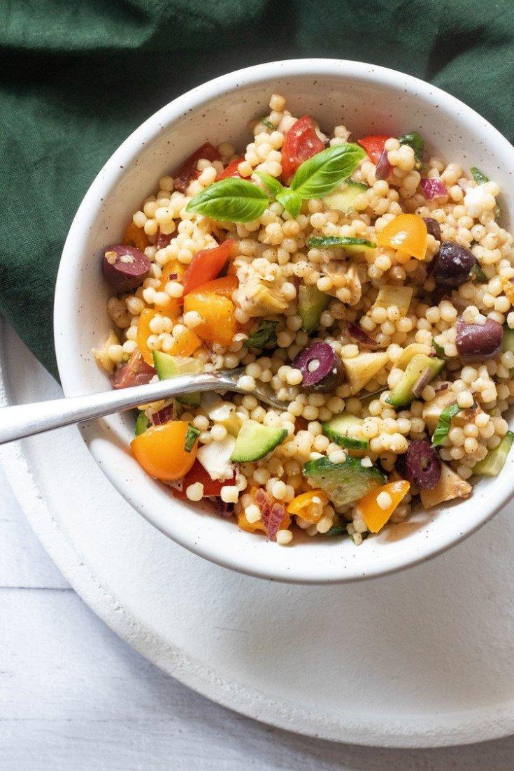 Israeli Couscous Salad – Vegan Summer Side Dish