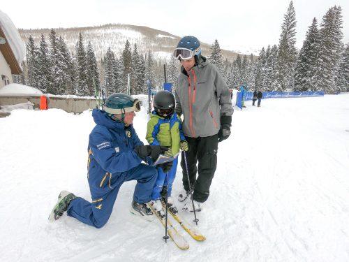 ski school at solitude