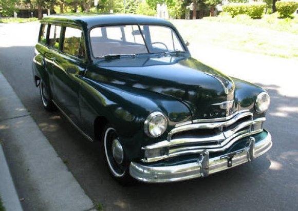 1950 Plymouth Suburban Wagon