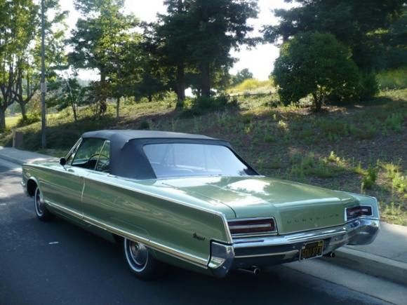 Chiseled Sled 1966 Chrysler Newport Convertible Bring a