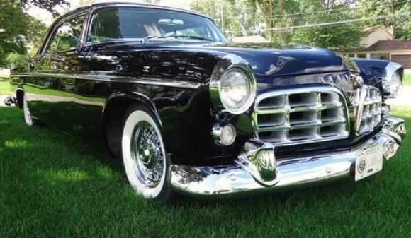 Original Letter Car 1955 Chrysler C300  Bring a Trailer
