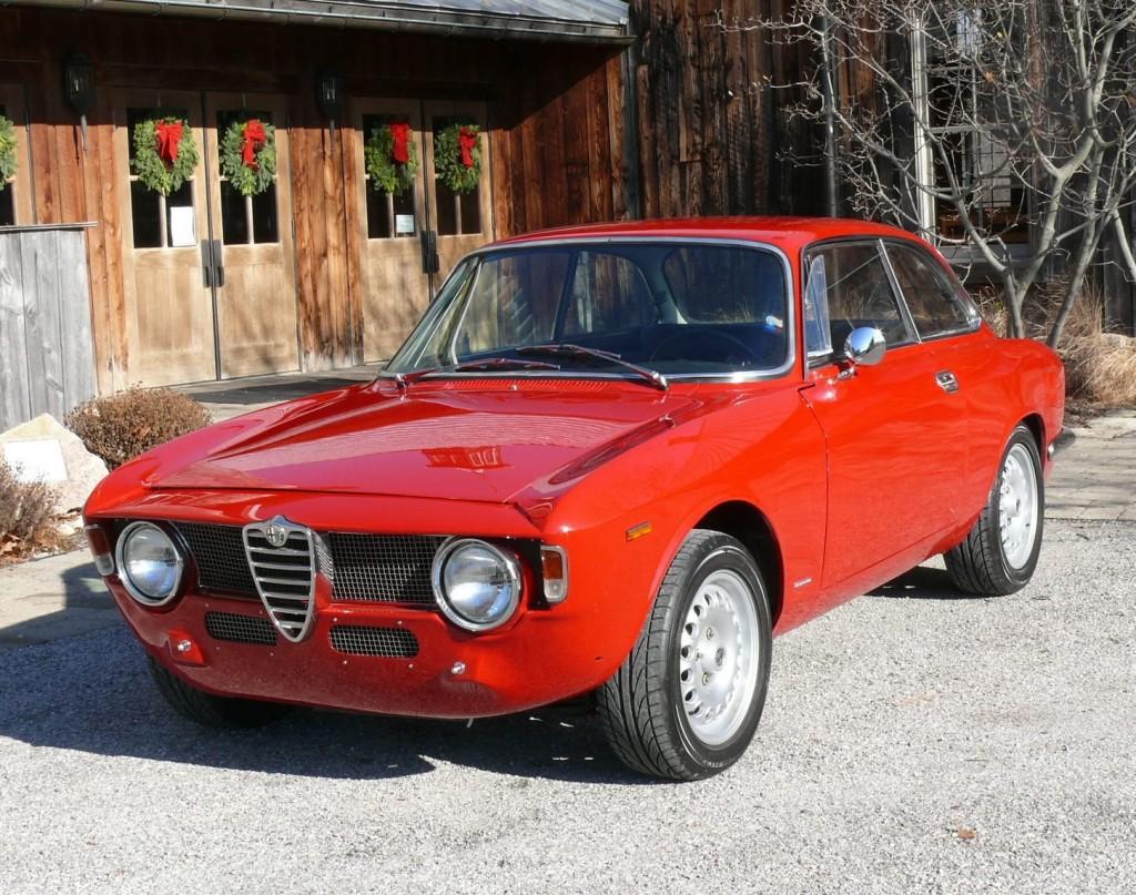 Rebuilt And Upgraded 1966 Alfa Romeo Giulia Gtv  Bring A
