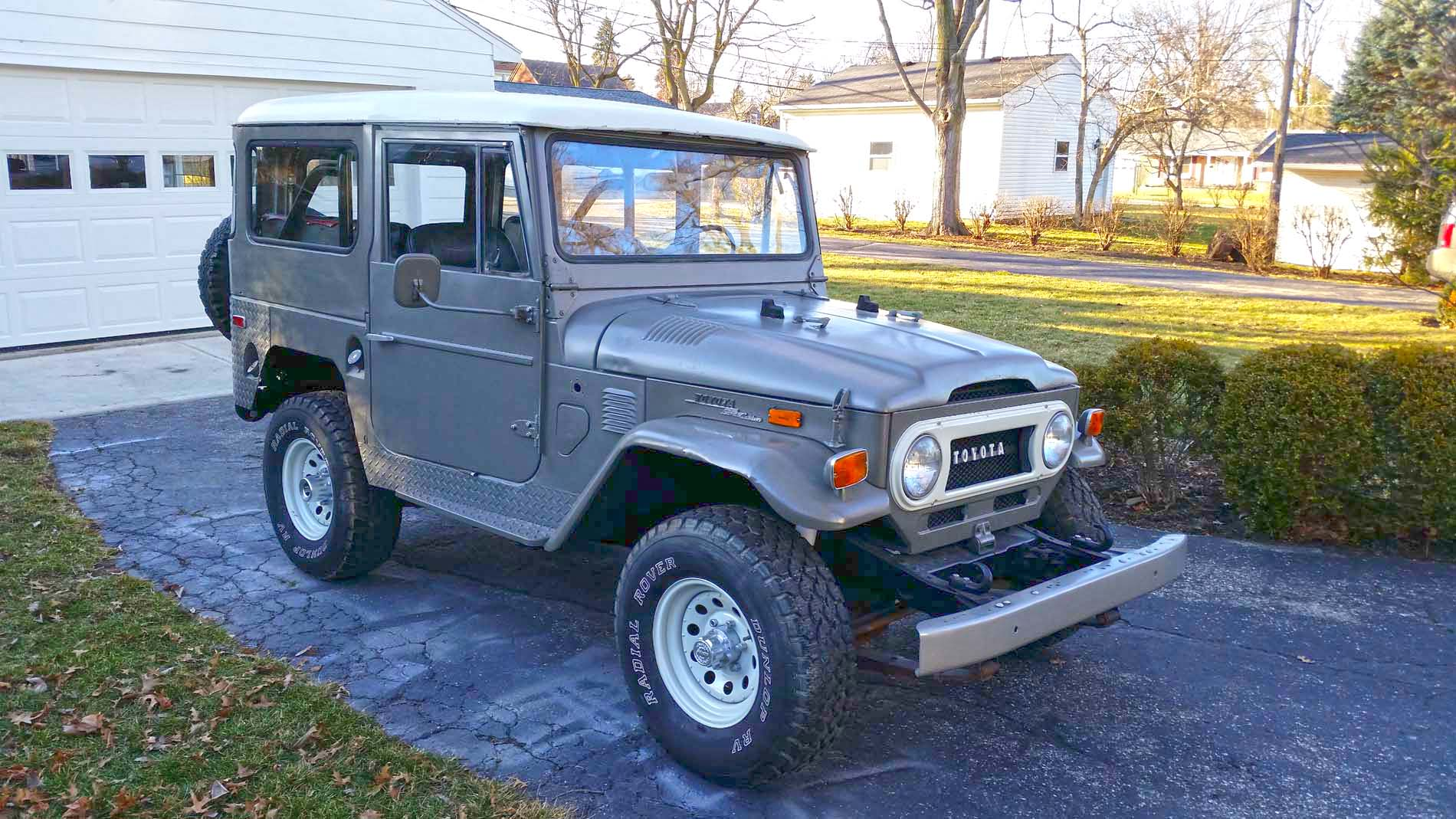 hight resolution of no reserve 1972 toyota land cruiser fj40 project for sale on bat fj40 wiring diagram