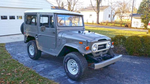 small resolution of no reserve 1972 toyota land cruiser fj40 project for sale on bat fj40 wiring diagram