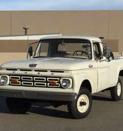 1964 ford f100 4wd for sale on bat auctions sold for 6 830 on october 25 2016 lot 2 425 bring a trailer [ 1792 x 1346 Pixel ]