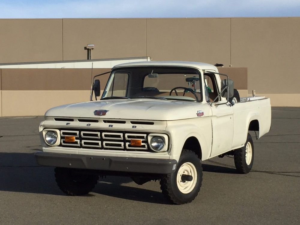 medium resolution of 1964 ford f100 4wd for sale on bat auctions sold for 6 830 on october 25 2016 lot 2 425 bring a trailer