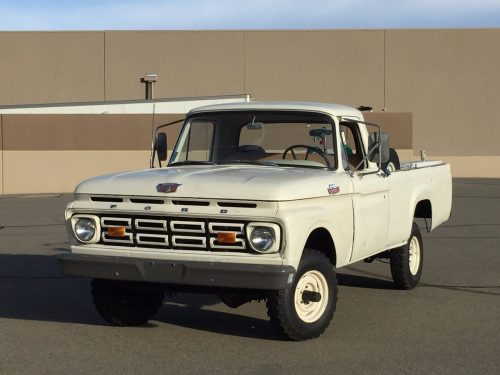 small resolution of 1964 ford f100 4wd for sale on bat auctions sold for 6 830 on october 25 2016 lot 2 425 bring a trailer
