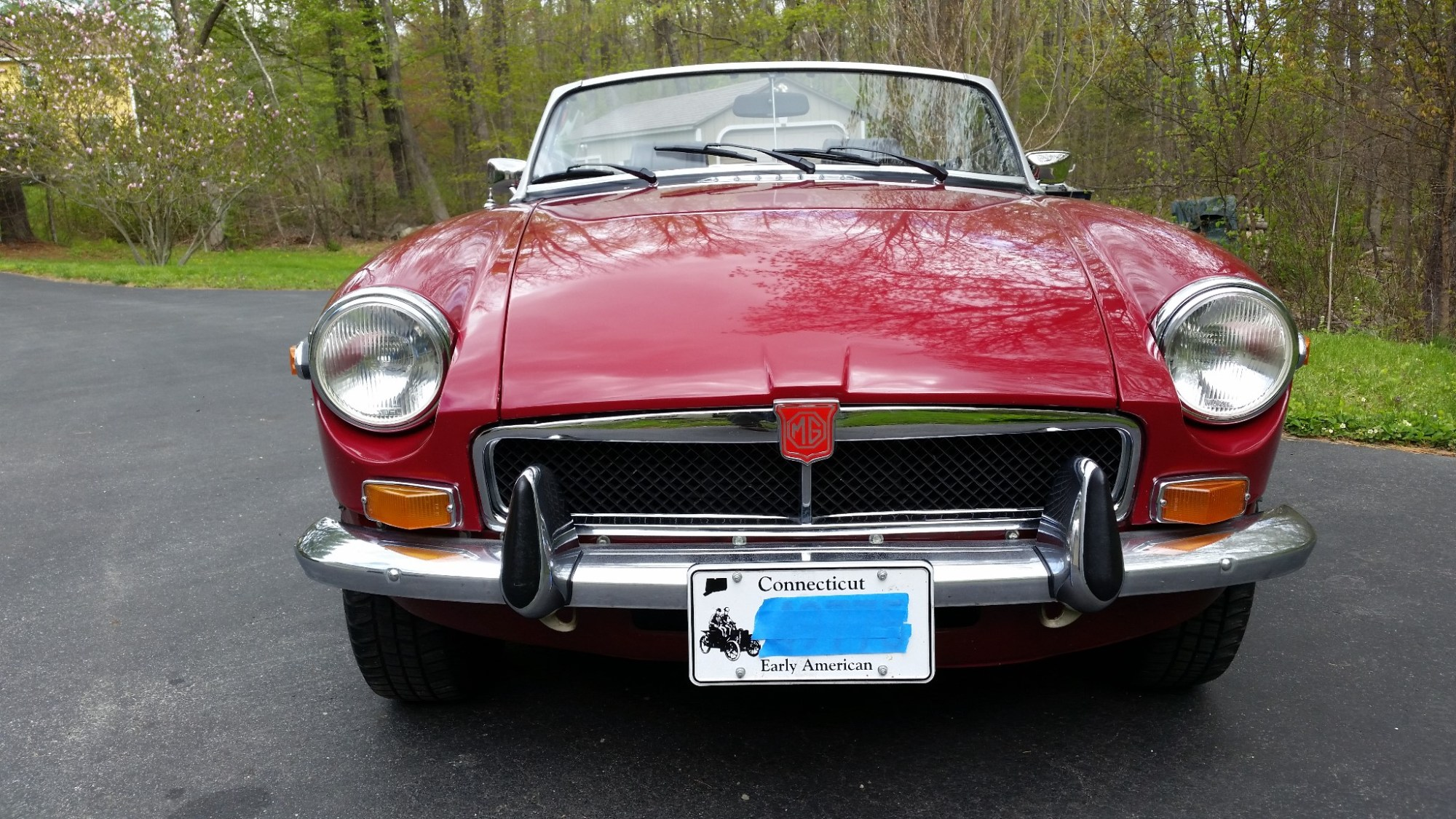 hight resolution of 1974 mgb roadster for sale on bat auctions sold for 14 000 on june 20 2017 lot 4 686 mgb engine wiring mgb headlight wiring