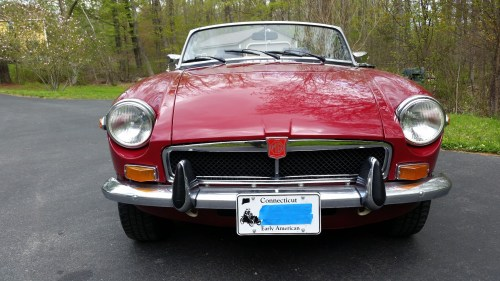 small resolution of 1974 mgb roadster for sale on bat auctions sold for 14 000 on june 20 2017 lot 4 686 mgb engine wiring mgb headlight wiring