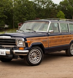 restored 1991 jeep grand wagoneer for sale on bat auctions sold for 41 000 on july 7 2017 lot 4 910 bring a trailer [ 1350 x 900 Pixel ]