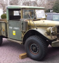 no reserve 1953 dodge m37 4x4 for sale on bat auctions sold for 8 300 [ 1879 x 1152 Pixel ]