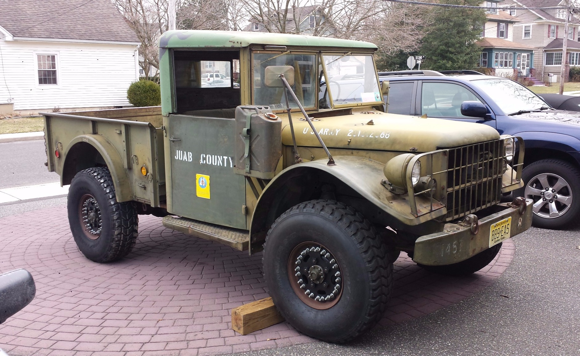 hight resolution of no reserve 1953 dodge m37 4x4 for sale on bat auctions sold for 8 300