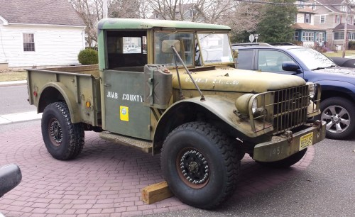 small resolution of no reserve 1953 dodge m37 4x4 for sale on bat auctions sold for 8 300