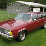 One Of 60 3 Speed Manuals Preserved 1980 Chevrolet Malibu Wagon Bring A Trailer