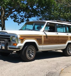 1988 jeep grand wagoneer for sale on bat auctions closed on october 11 2017 lot 6 299 bring a trailer [ 1242 x 891 Pixel ]