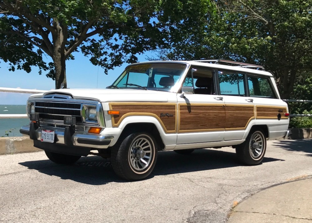 medium resolution of 1988 jeep grand wagoneer for sale on bat auctions closed on october 11 2017 lot 6 299 bring a trailer
