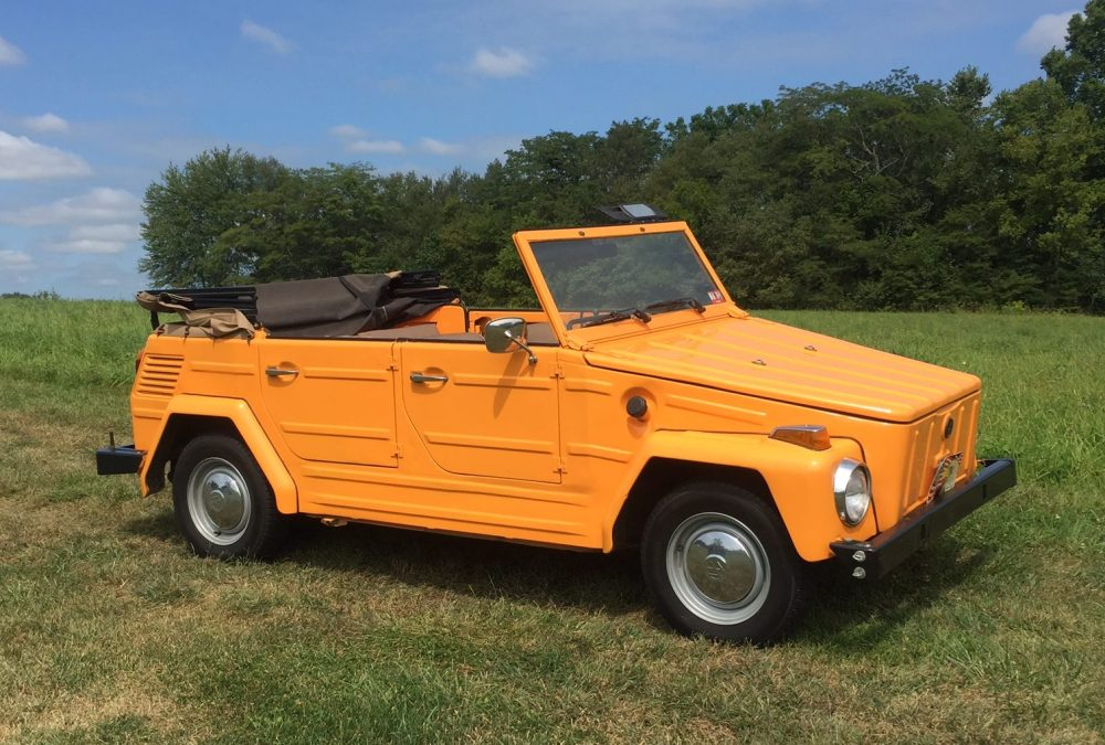 medium resolution of 1973 volkswagen thing for sale on bat auctions sold for 11 750 on september 18 2017 lot 5 932 bring a trailer