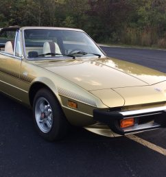 41k mile 1978 fiat x1 9 for sale on bat auctions sold for [ 1817 x 1300 Pixel ]