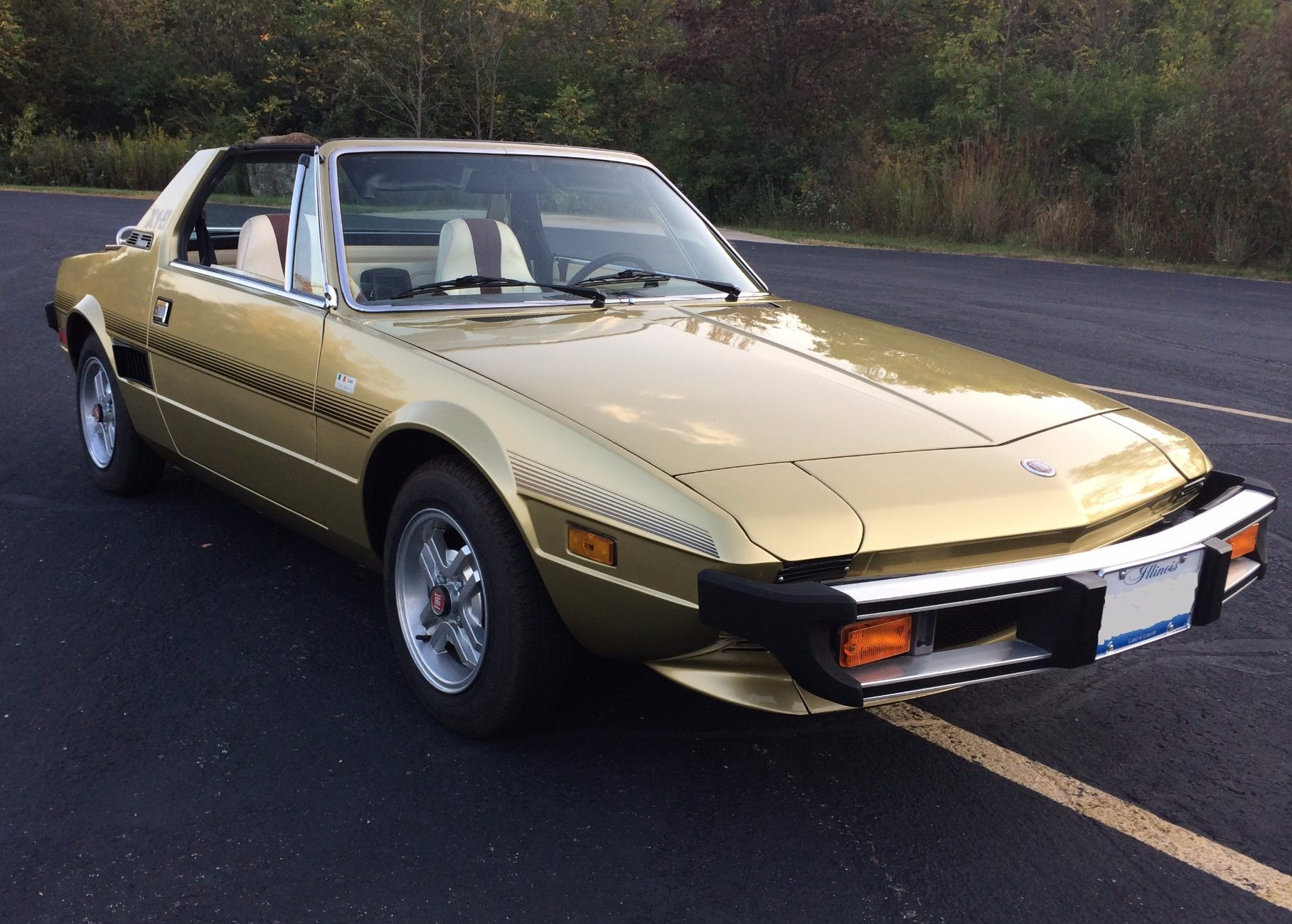 hight resolution of 41k mile 1978 fiat x1 9 for sale on bat auctions sold for