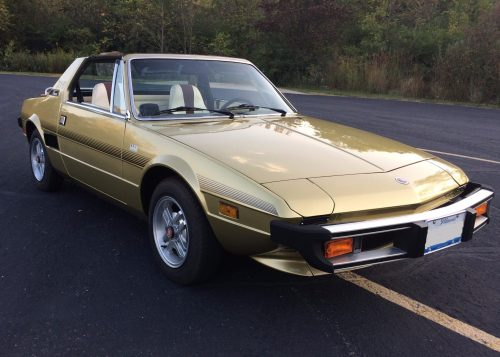 small resolution of 41k mile 1978 fiat x1 9 for sale on bat auctions sold for