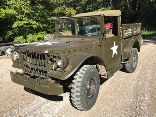small resolution of no reserve 1954 dodge m37 4x4 for sale on bat auctions sold for 99 dodge neon wiring harness m37 dodge truck wiring harness kits