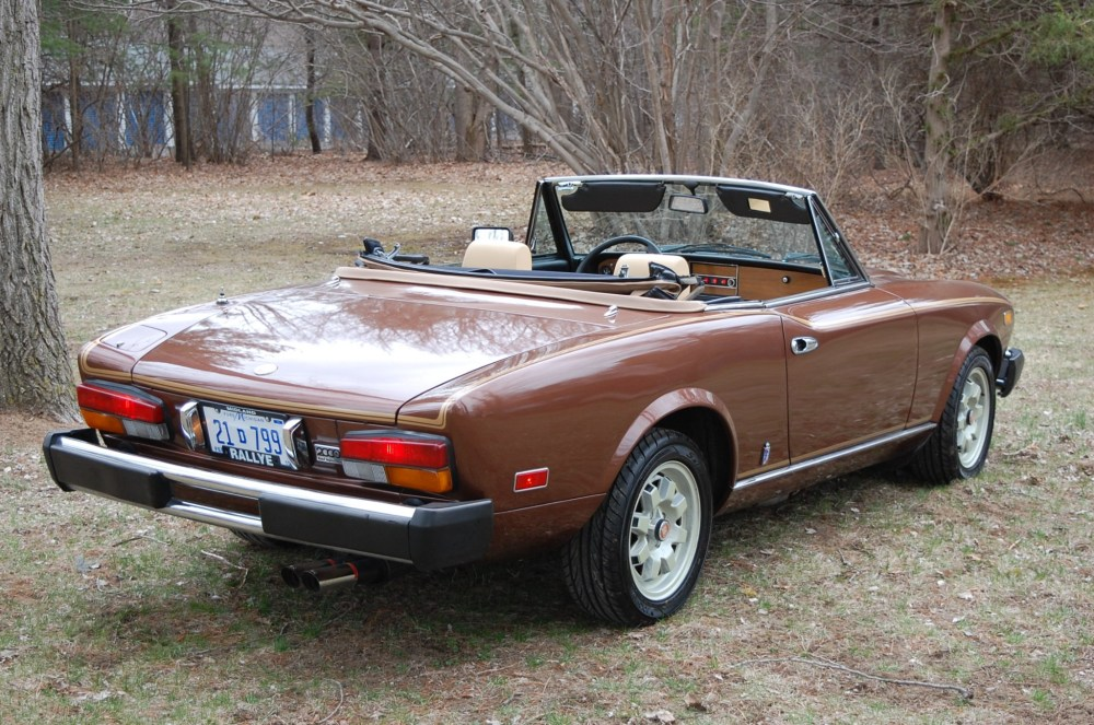 medium resolution of 1981 fiat 2000 turbo spider for sale on bat auctions sold for 13 500 on may 8 2018 lot 9 488 bring a trailer