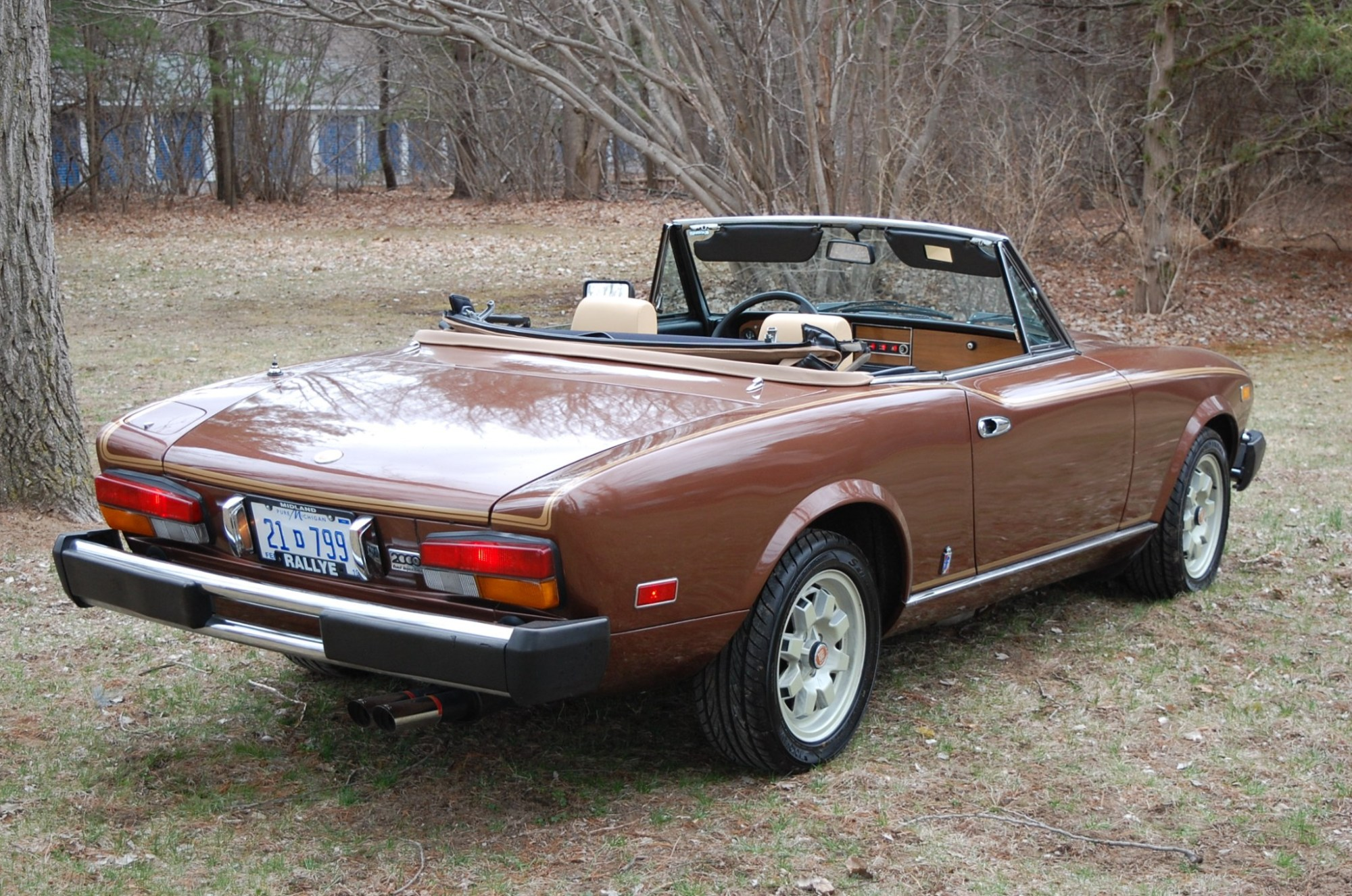 hight resolution of 1981 fiat 2000 turbo spider for sale on bat auctions sold for 13 500 on may 8 2018 lot 9 488 bring a trailer