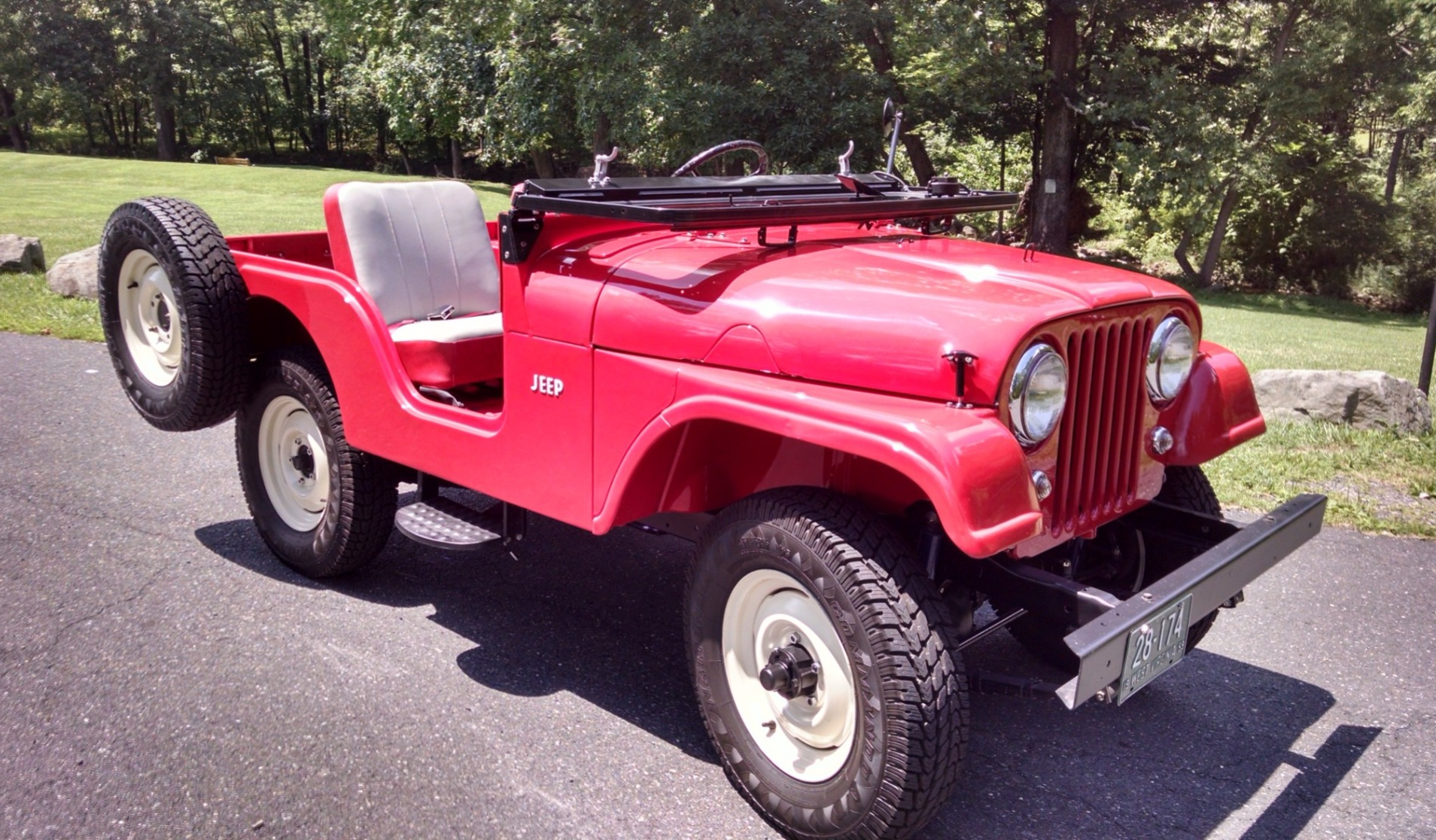 hight resolution of restored 1959 jeep cj5 for sale on bat auctions sold for 12 000 on april 30 2018 lot 9 328 bring a trailer