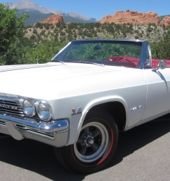 1965 chevrolet impala convertible ss 396 4 speed for sale on bat auctions sold for 34 500 on june 26 2018 lot 10 508 bring a trailer [ 1920 x 1080 Pixel ]