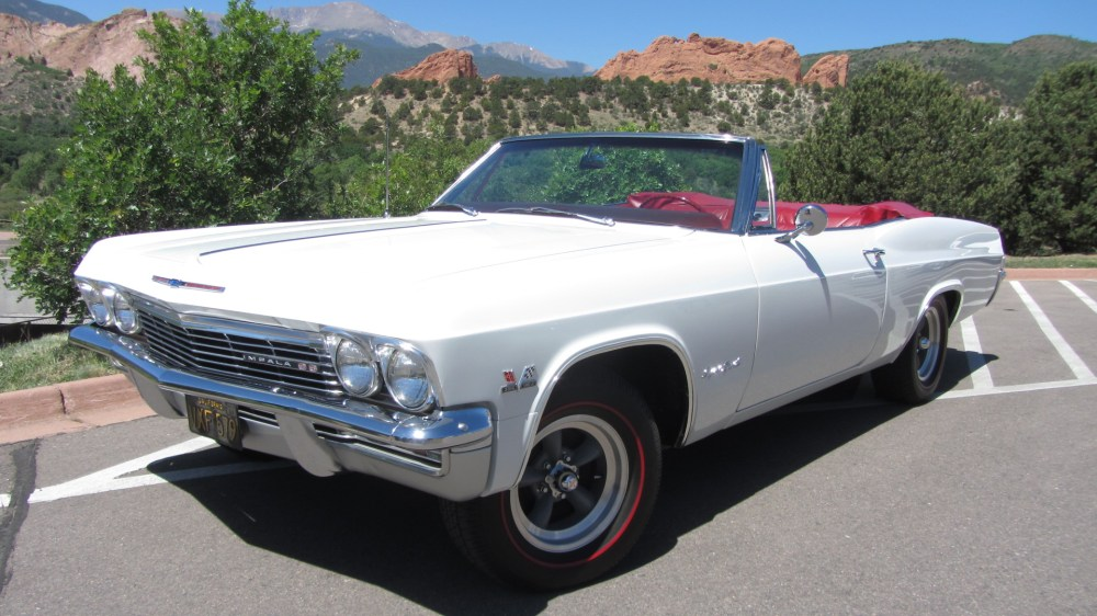 medium resolution of 1965 chevrolet impala convertible ss 396 4 speed for sale on bat auctions sold for 34 500 on june 26 2018 lot 10 508 bring a trailer