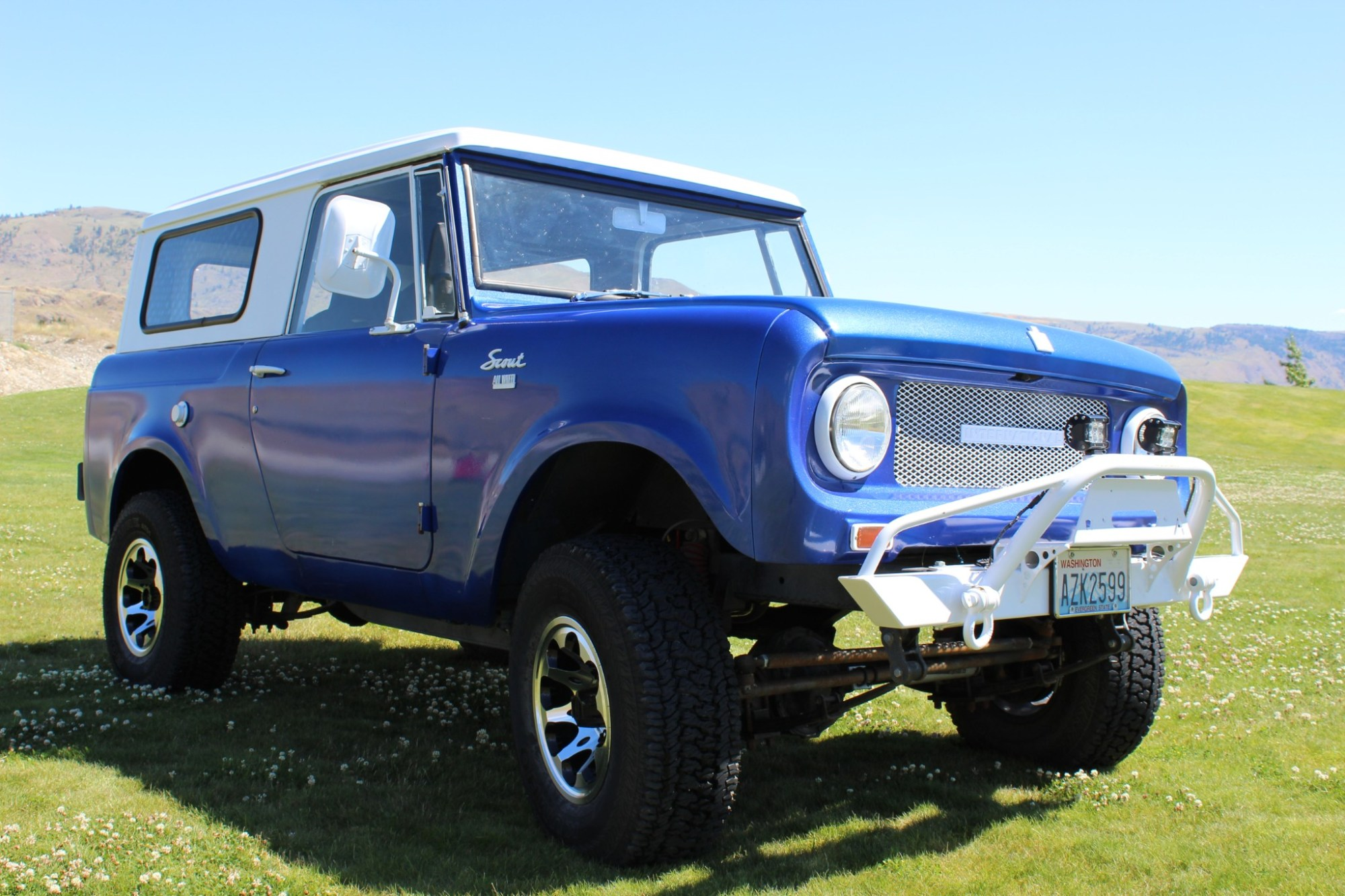 hight resolution of 302 powered 1966 international harvester scout 800 4 speed for sale on bat auctions sold for 15 000 on july 23 2018 lot 11 071 bring a trailer
