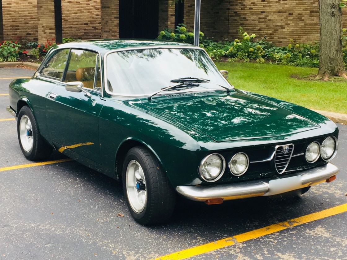 hight resolution of 1969 alfa romeo gtv for sale on bat auctions sold for 33 750 on september 19
