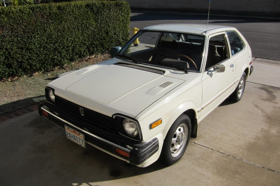 No Reserve: One-Owner 1981 Honda Civic CVCC 5-Speed