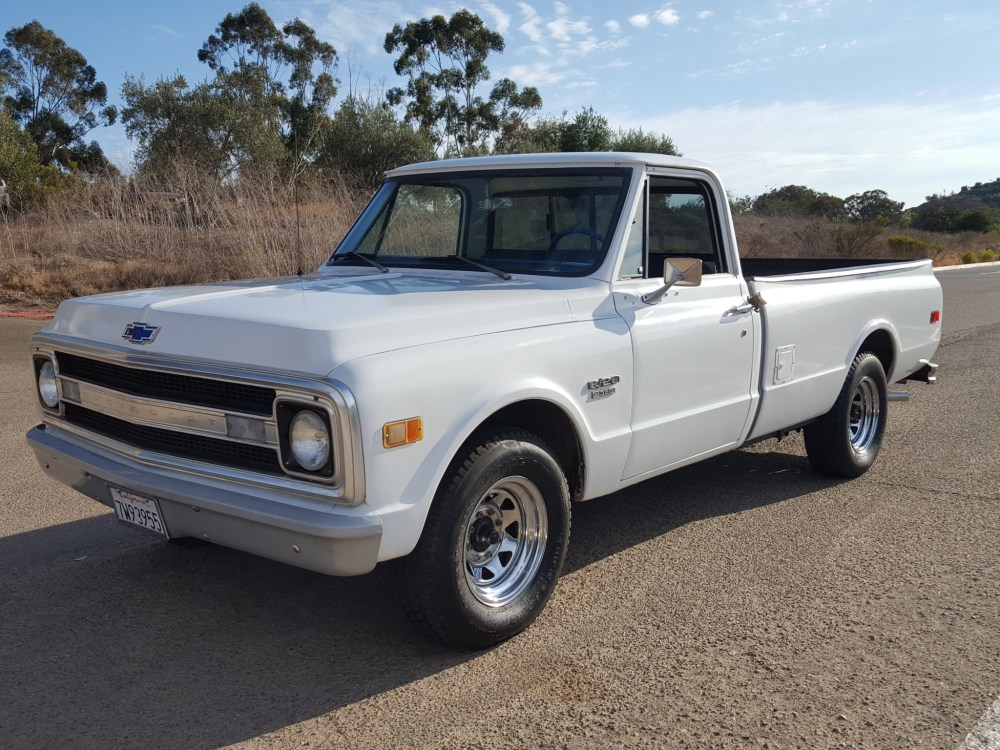 medium resolution of 1970 chevrolet c20 4 speed pickup for sale on bat auctions sold for 11 500 on august 13 2018 lot 11 572 bring a trailer